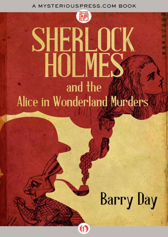 обложка книги Sherlock Holmes and the Alice in Wonderland Murders