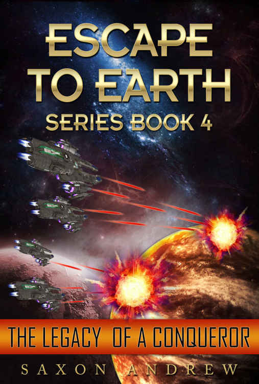 обложка книги Escape to Earth-The Legacy of a Conqueror