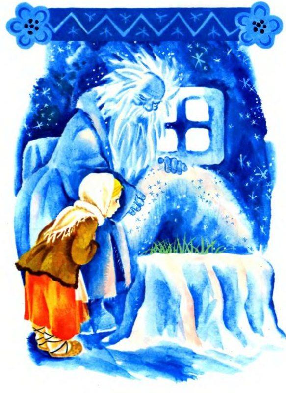 План в картинках к сказке мороз иванович, открытка