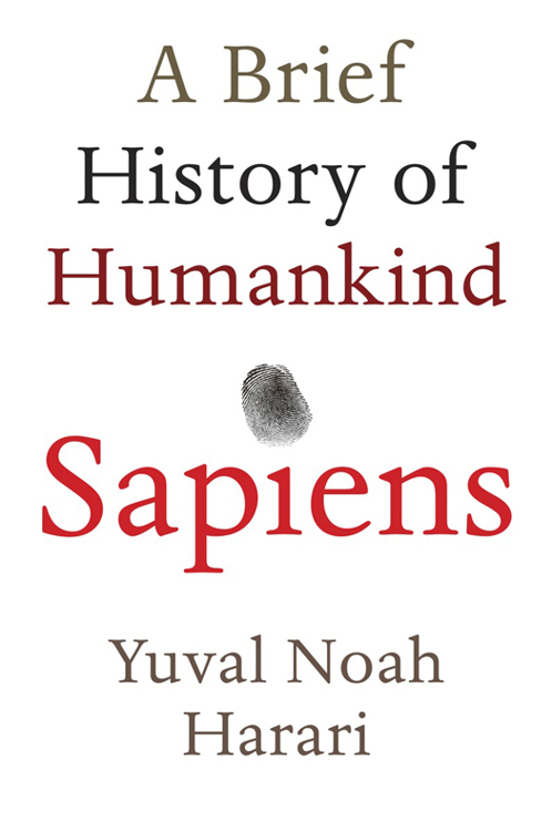 обложка книги Sapiens: A Brief History of Humankind