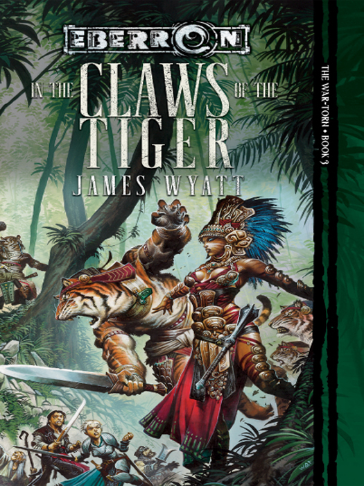 обложка книги In the Claws of the Tiger
