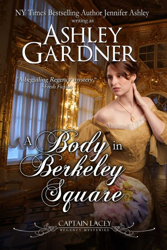 обложка книги A Body in Berkeley Square