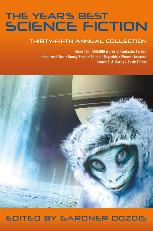 обложка книги The Year's Best Science Fiction: Thirty-Fifth Annual Collection