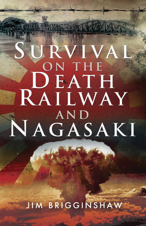 обложка книги Survival on the Death Railway and Nagasaki