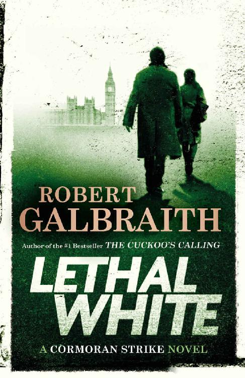 обложка книги Lethal White (A Cormoran Strike Novel)