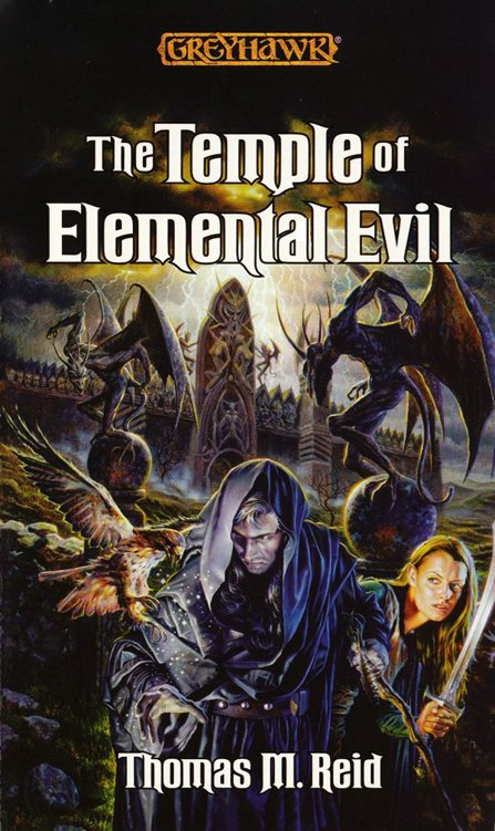 обложка книги The Temple of Elemental Evil