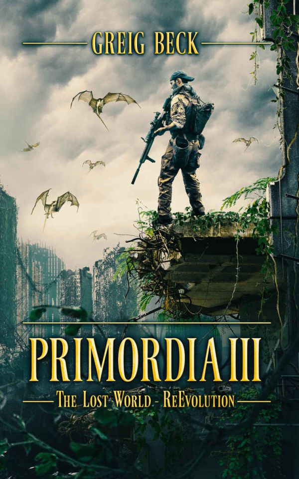 обложка книги Primordia 3: The Lost World—Re-Evolution