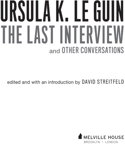 Изображение к книге Ursula K. Le Guin: The Last Interview and Other Conversations