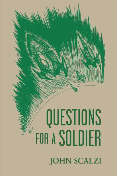 обложка книги Questions for a Soldier