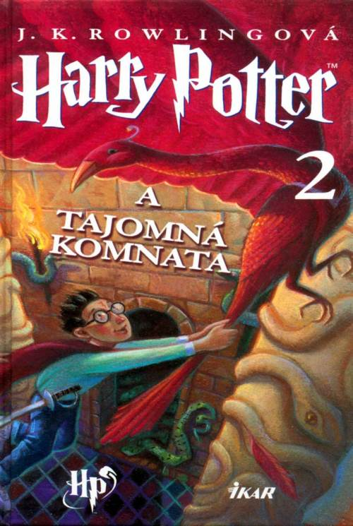 обложка книги Harry Potter a tajomná komnata