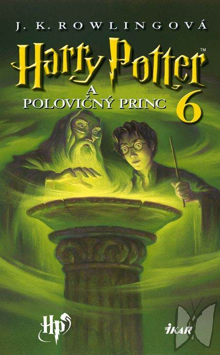 обложка книги Harry Potter a Polovičný princ