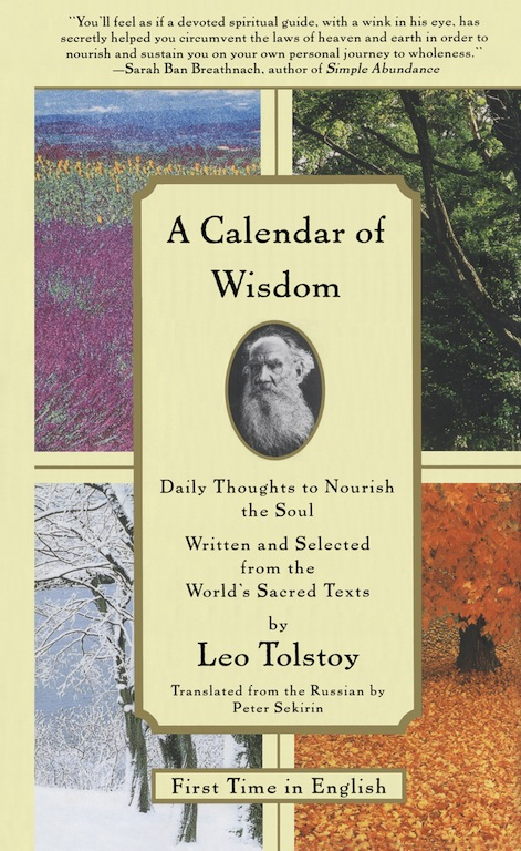 обложка книги A Calendar of Wisdom: Daily Thoughts to Nourish the Soul, Written and Se