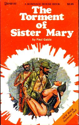 обложка книги The torment of sister Mary