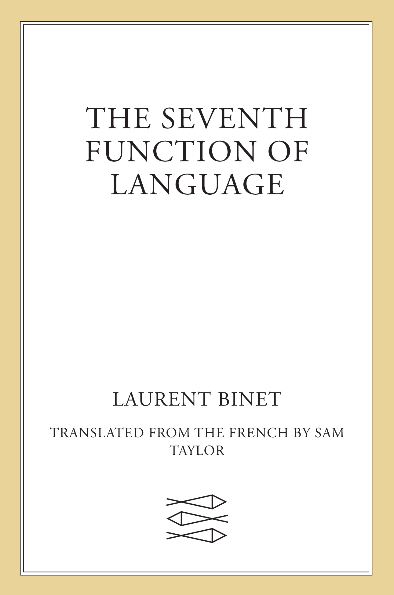 обложка книги The Seventh Function of Language