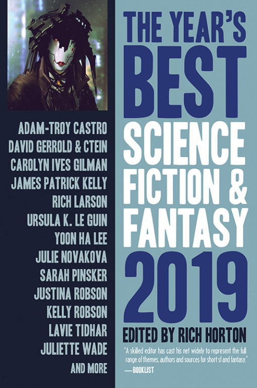обложка книги The Year's Best Science Fiction & Fantasy, 2019 Edition