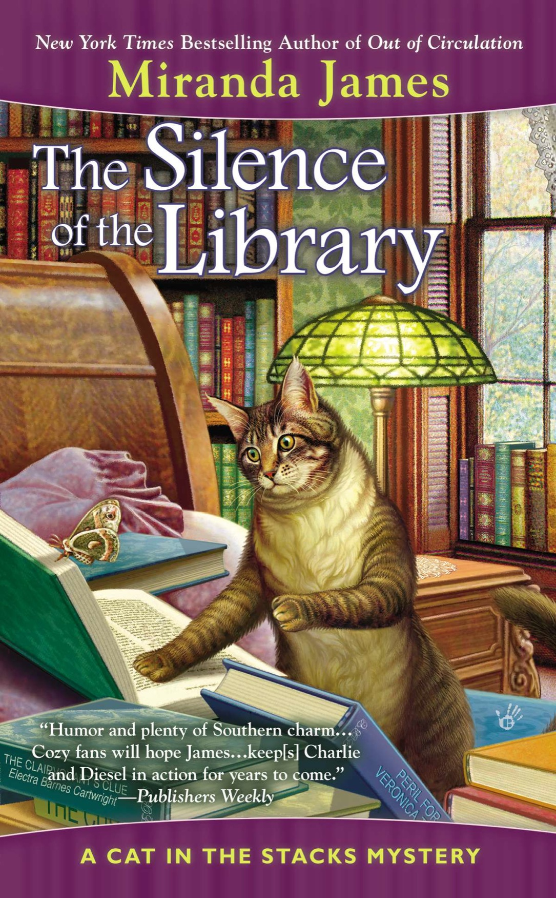 обложка книги The Silence of the Library