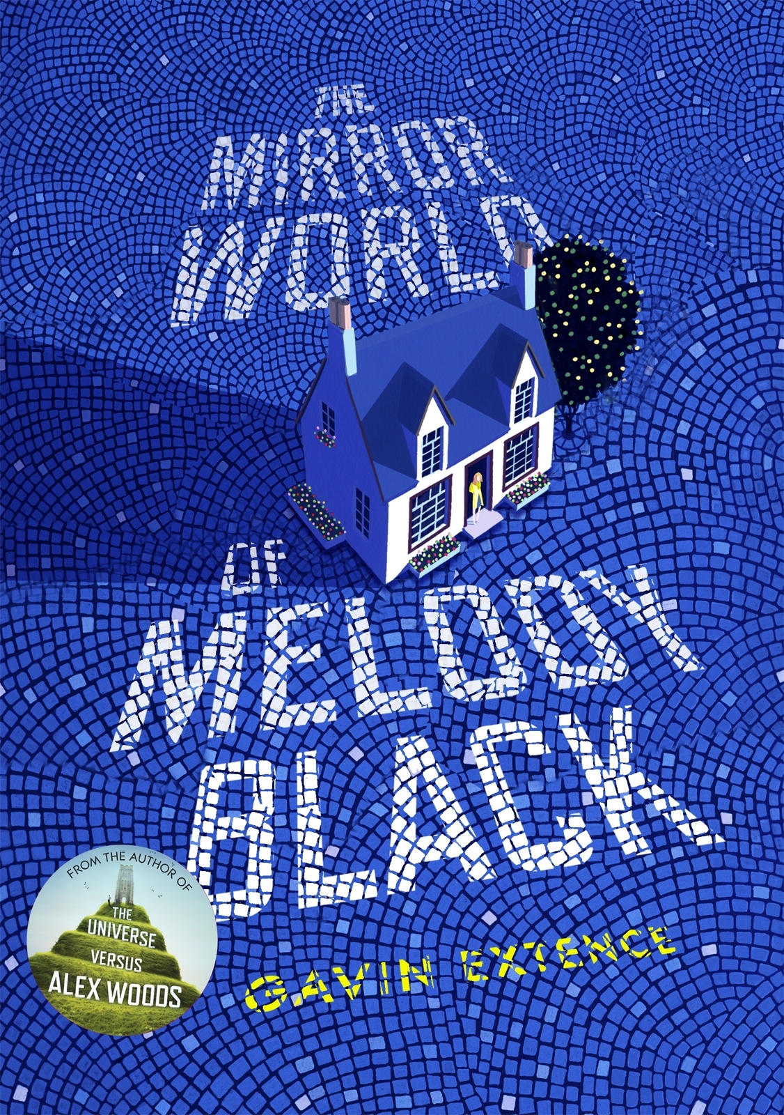 обложка книги The Mirror World of Melody Black