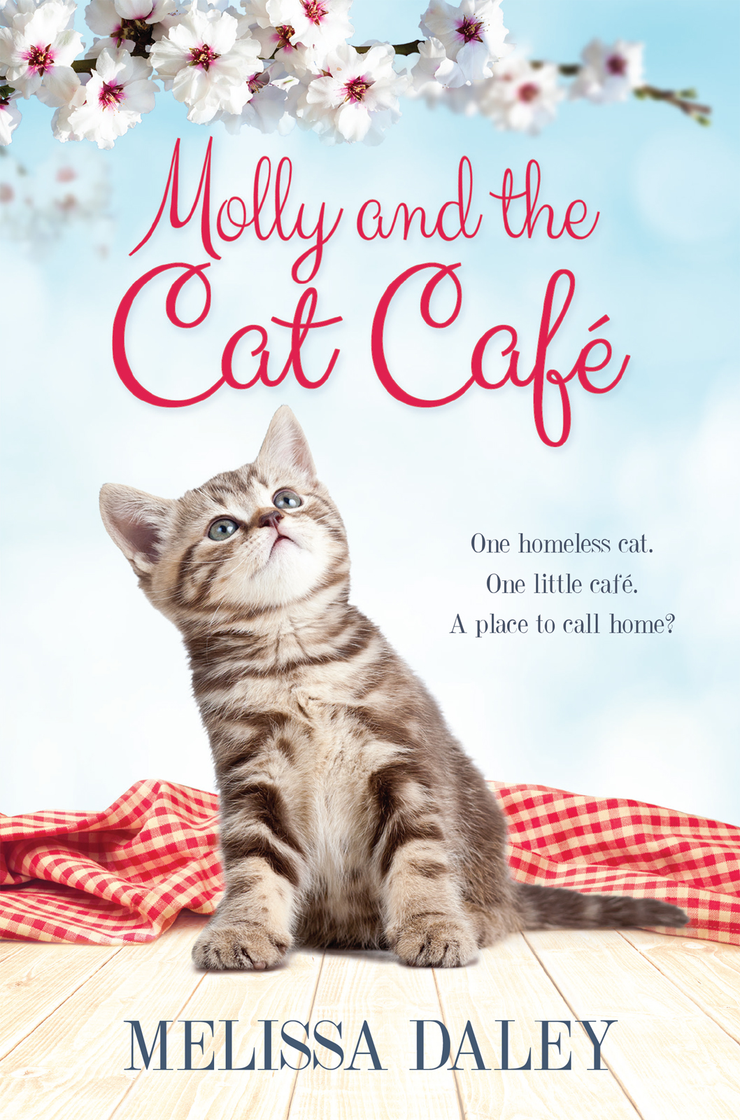 обложка книги Molly and the Cat Cafe