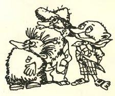 Изображение к книге Муфтик, Півчеревичок і Мохобородько