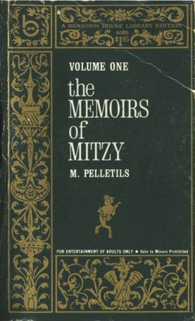 обложка книги The Memoirs of Mitzy, Volume 1