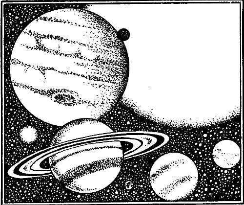 Изображение к книге Путешествие по недрам планет