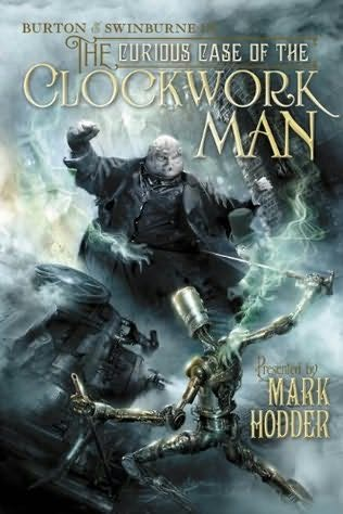 обложка книги The curious case of the Clockwork Man