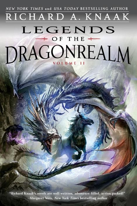 обложка книги Legends of the Dragonrealm Volume 2