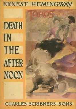 обложка книги Death in the afternoon