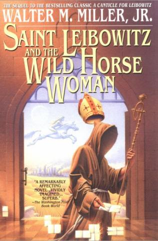 обложка книги Saint Leibowitz and the Wild Horse Woman