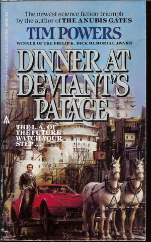 обложка книги Dinner At Deviant's Palace