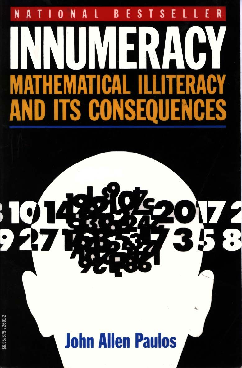 обложка книги INNUMERACY: Mathematical Illiteracy and Its Consequences
