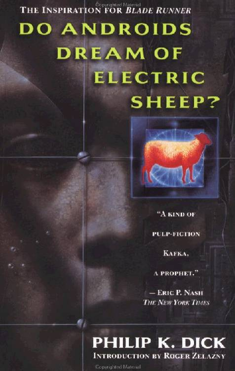 обложка книги Do Androids Dream of Electric Sheep?