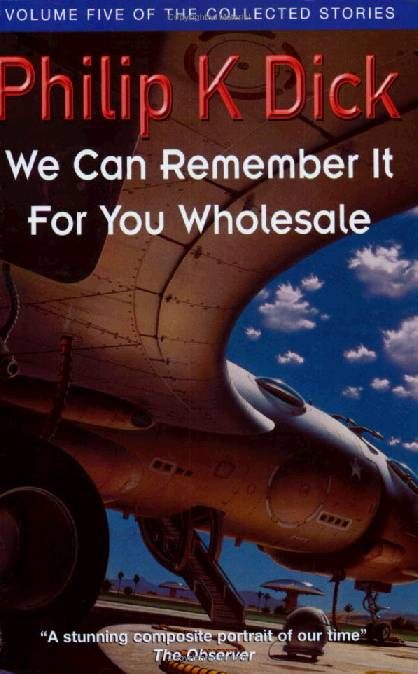 обложка книги We Can Remember It for You Wholesale