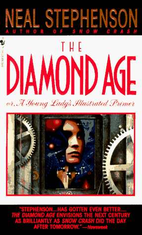 обложка книги Diamond Age or a Young Lady's Illustrated Primer