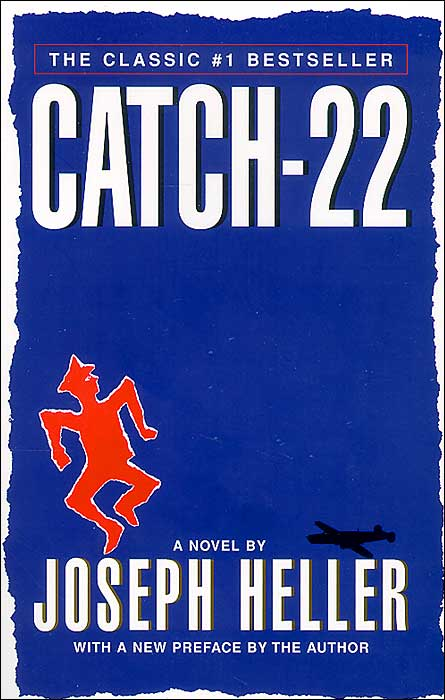 the manipulation of the english language in the novel catch 22 by joseph heller Language: twitter get our app catch-22 is the title of a novel by joseph heller catch heller's war tale at playhouse.