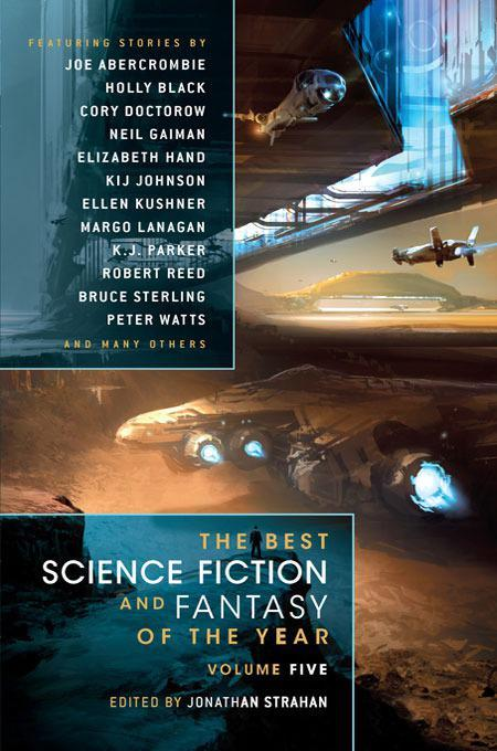 обложка книги The Best Science Fiction & Fantasy of the Year Volume 5 An anthology of stories