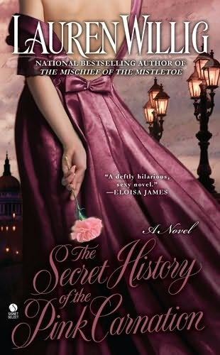обложка книги The Secret History of the Pink Carnation