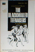 обложка книги The blackmailed teenagers