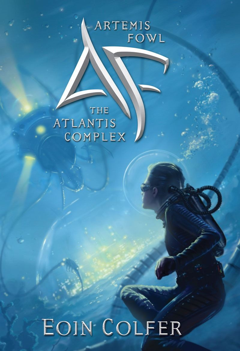 обложка книги Artemis Fowl and the Atlantis Complex