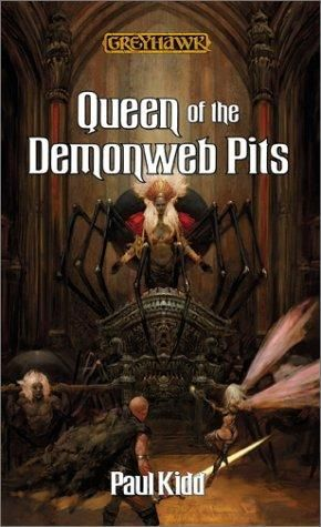 обложка книги Queen of the Demonweb Pits