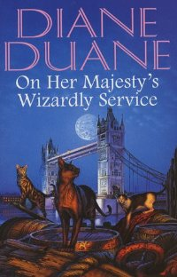 обложка книги On Her Majesty's Wizardly Service