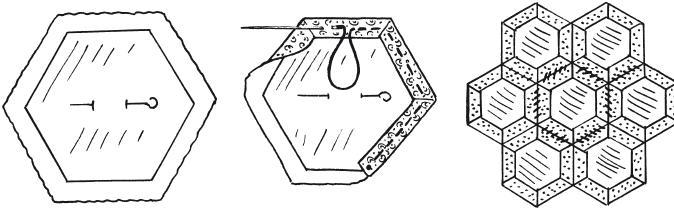 Схема шитья в технике «