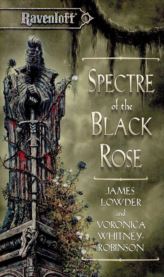 обложка книги Spectre Of The Black Rose