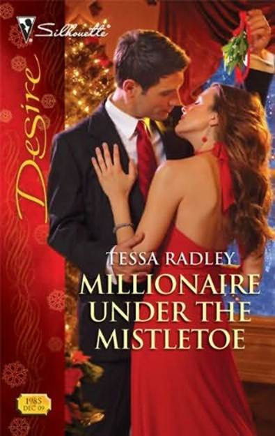обложка книги Millionaire Under The Mistletoe