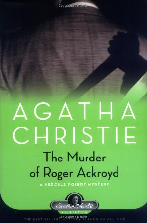 обложка книги The Murder Of Roger Ackroyd