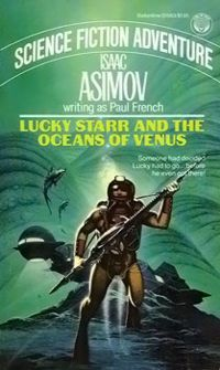 обложка книги Lucky Starr And The Oceanf Of Venus