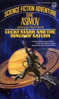 обложка книги Lucky Starr And The Rings Of Saturn