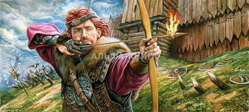 Изображение к книге Алое пламя в зеленой листве