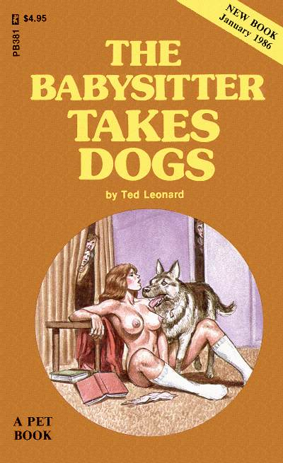 обложка книги The babysitter takes dogs