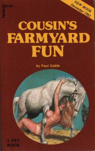 7477 книг. обложка книги Cousin_s farmyard fun. книги жанра Эротика, Секс.